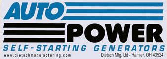 Auto Power Generator Model ER