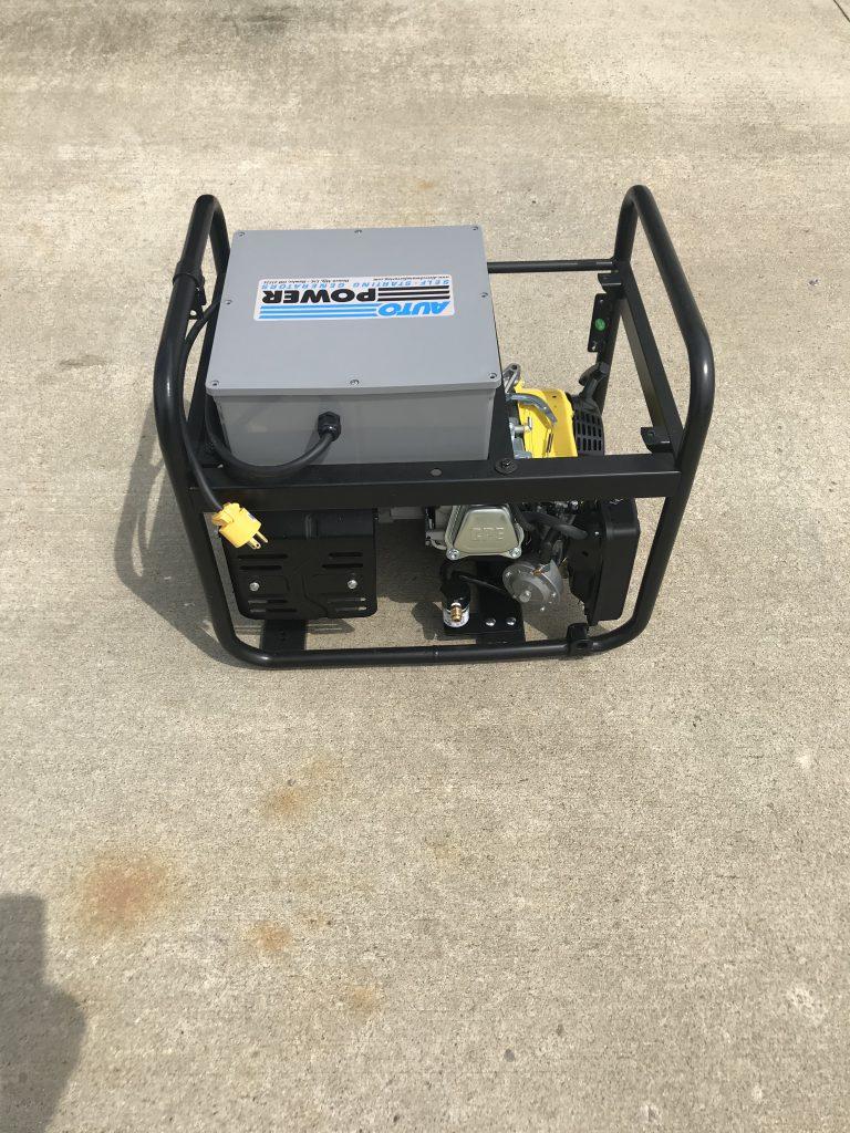 Model P3500 Standby Generator 2